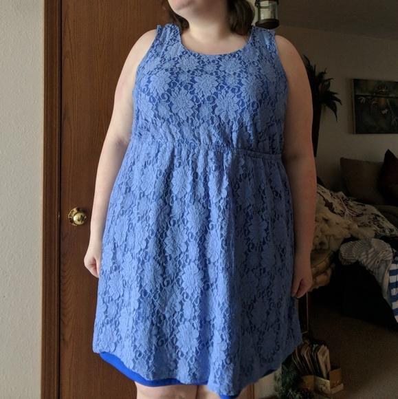 Lace Plus Size Dress